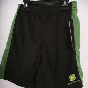 John Deere NWT Multiple Sizes Shorts Black & Green